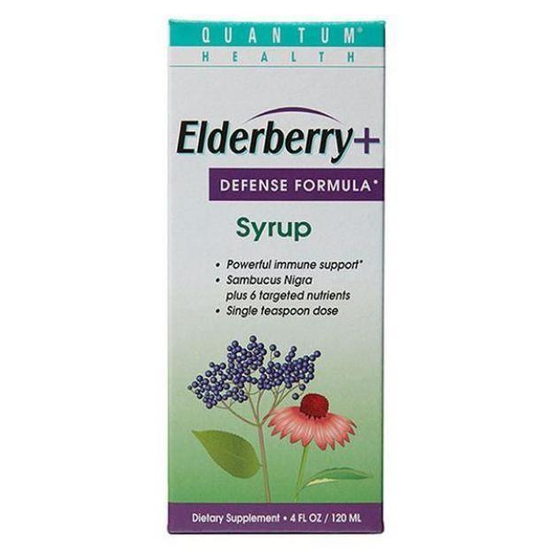 Elderberry C-Syrup Nutritional Defense (4 fl oz, Quantum Health)