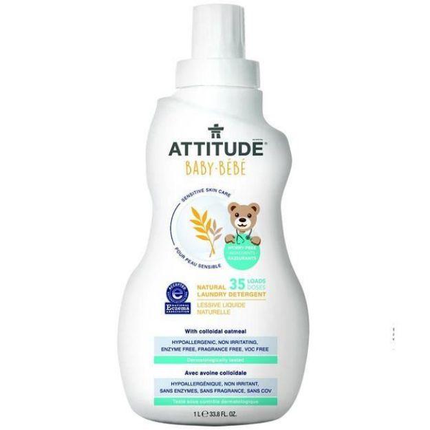 Baby Laundry Detergent - Fragrance Free (33.8 fl. oz., Attitude)