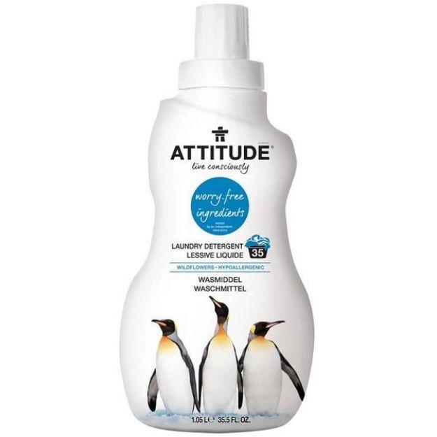 Laundry Liquid - 3X - Wild Flowers (35.5 fl. oz., Attitude)