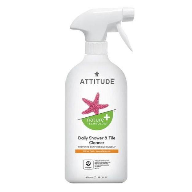 Cleaner - Daily Shower - Citrus Zest (27 fl. oz., Attitude)