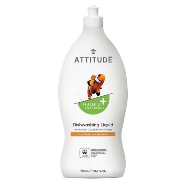 Cleaner - Dishwasher Liquid - Citrus Zest (23.7 fl. oz., Attitude)