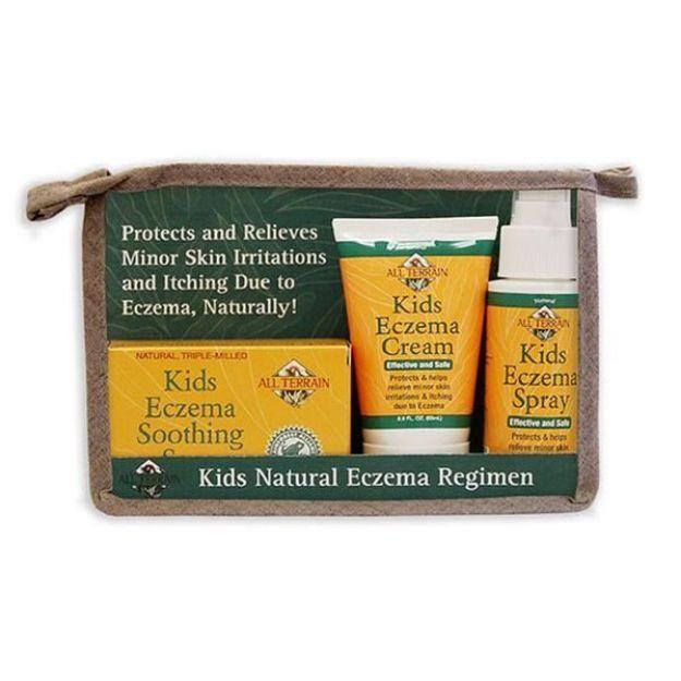 Kid's Natural Eczema Regimen (3 pc, All Terrain)