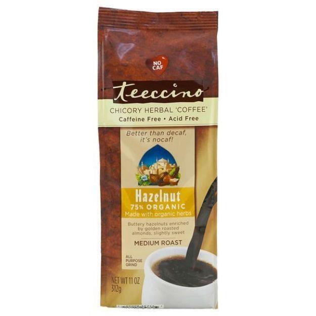 Hazelnut Medium Roast Herbal Coffee (11 oz, Teeccino)