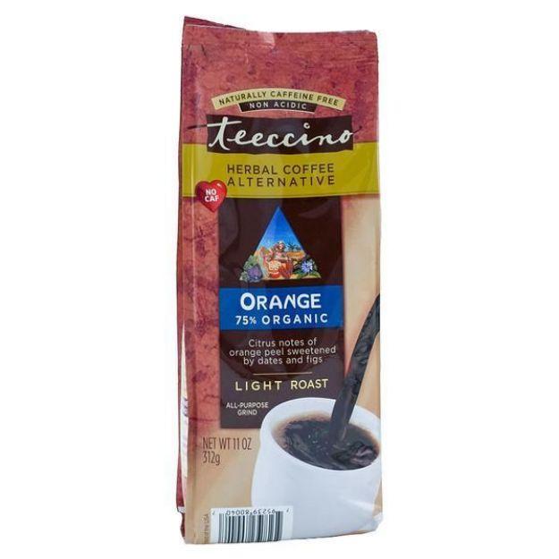 Orange Light Roast Herbal Coffee (11 oz, Teeccino)