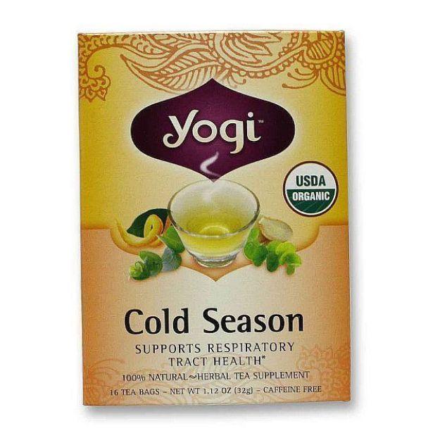 Yogi® Cold Season Tea - Support the Body During the Cold Weather Season