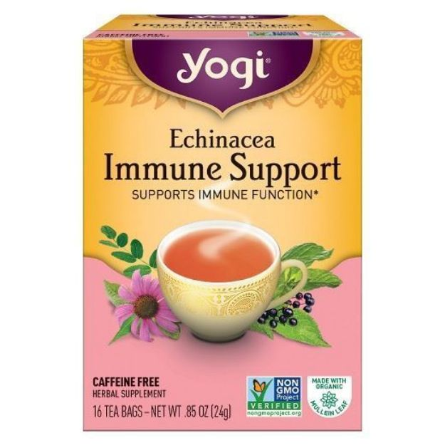 Yogi® Echinacea Immune Support - Supports Immune Function