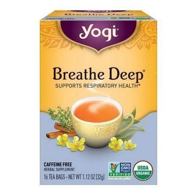 Yogi® Breath Deep® Tea - Supports Respiratory Health