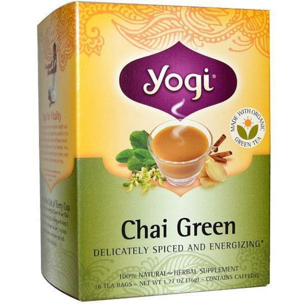 Yogi® Chai Green - Delicately Spiced and Energizing