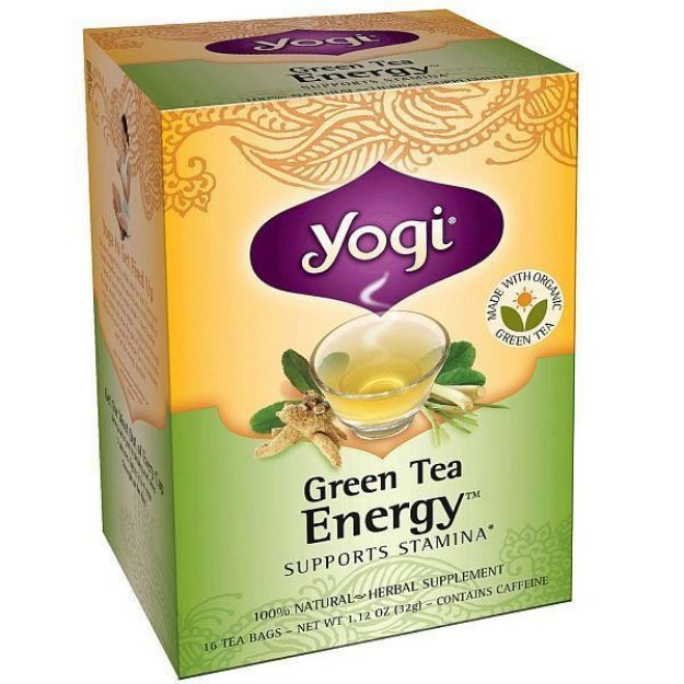 Yogi® Green Energy Tea - Supports Stamina