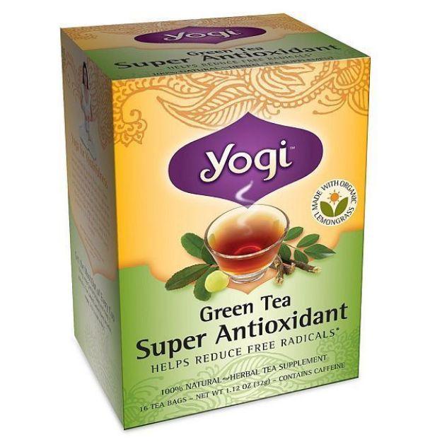 Yogi® Green Tea Super Antioxidant - Helps Reduce Free Radicals