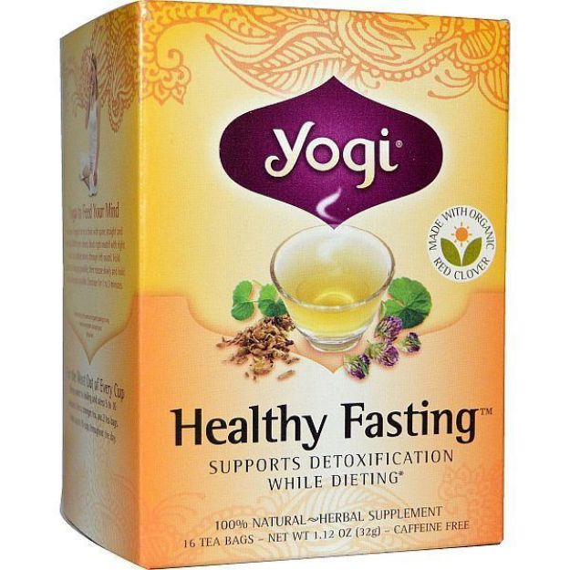 Yogi® Healthy Fasting Tea - Supports Detoxification while Dieting