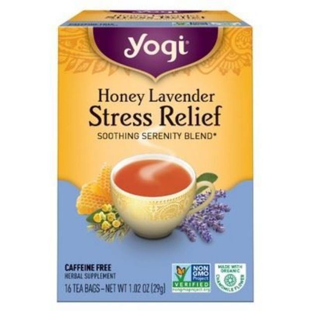 Yogi® Honey Lavender Stress Relief Tea - Soothing Serenity Blend