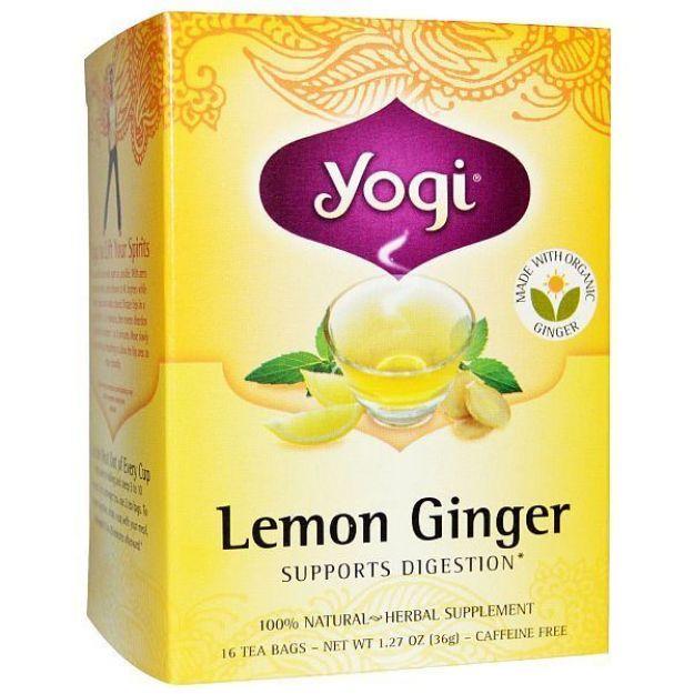 Yogi® Lemon-Ginger Tea - Supports Healthy Digestion