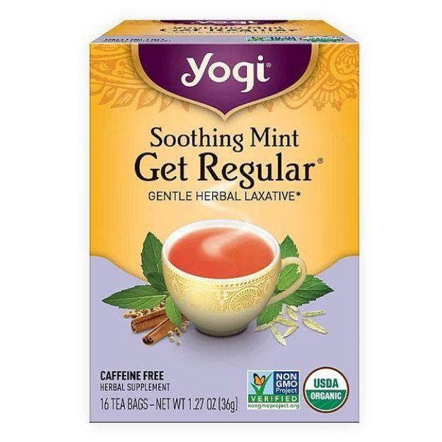 Yogi® Soothing Mint Get Regular® Tea - Gentle Herbal Laxative