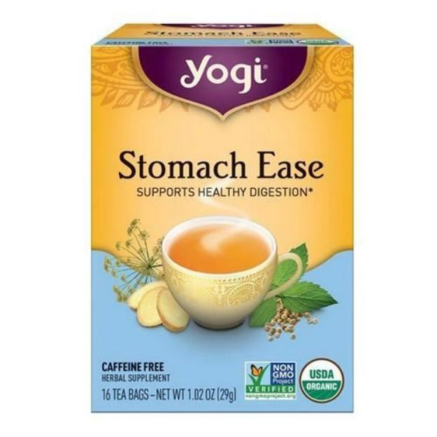 Yogi® Stomach Ease Tea - Supports Healthy Digestion