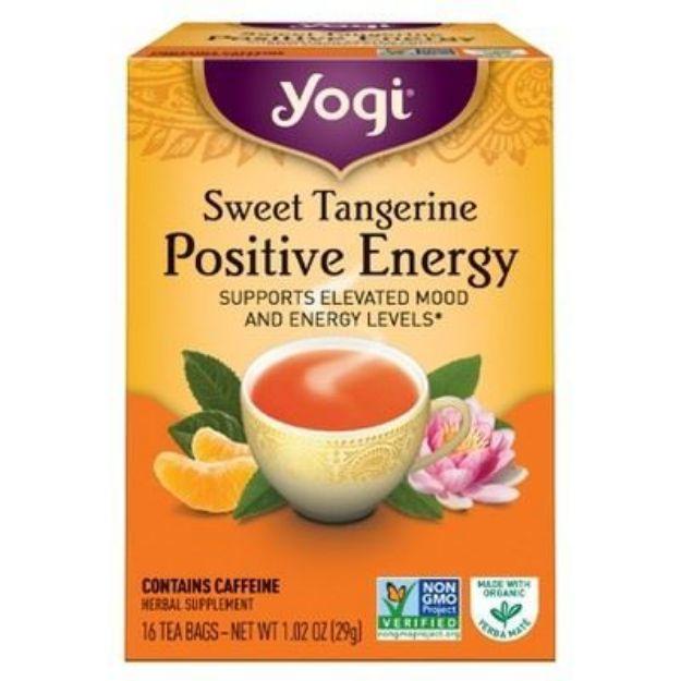 Yogi® Sweet Tangerine Positive Energy Tea - Supports Elevated Mood and Energy Levels