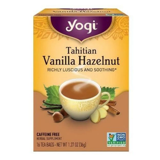Yogi® Tahitian Vanilla Hazelnut Tea - Richly Luscious and Soothing