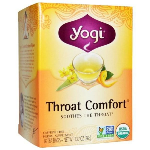 Yogi® Throat Comfort® Tea - Soothes the Throat