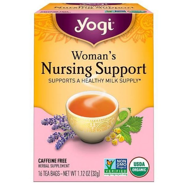Yogi® Woman's Nursing Support Tea - Supports a Healthy Milk Supply