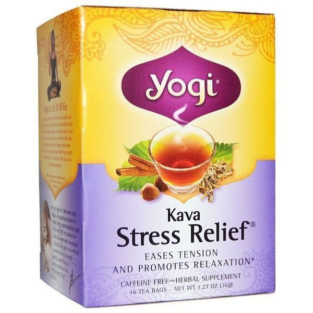 Yogi® Kava Stress Relief® Tea - Eases Tension and Promotes Relaxation