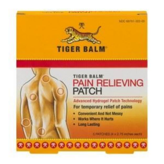 Tiger Balm® Pain Relieving Patch