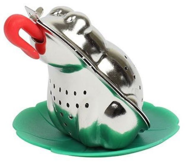Stainless Steel Frog Tea Infuser