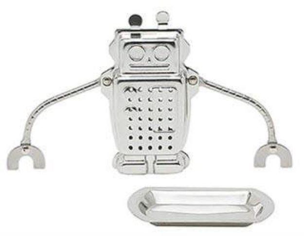 Robot Stainless Steel Tea Infuser