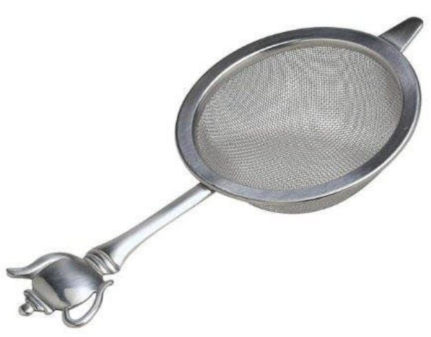 Stainless Steel Tea Strainer with Teapot Handle