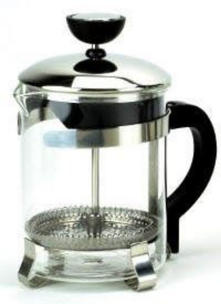 Tea & Coffee Press (Chrome - 16oz)
