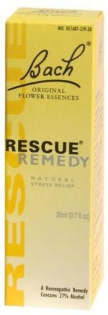 Bach Flower Remedies Rescue Remedy Flower Essence 20 ML