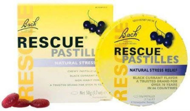 Bach Flower Remedies Black Currant Rescue Pastilles 50 grams