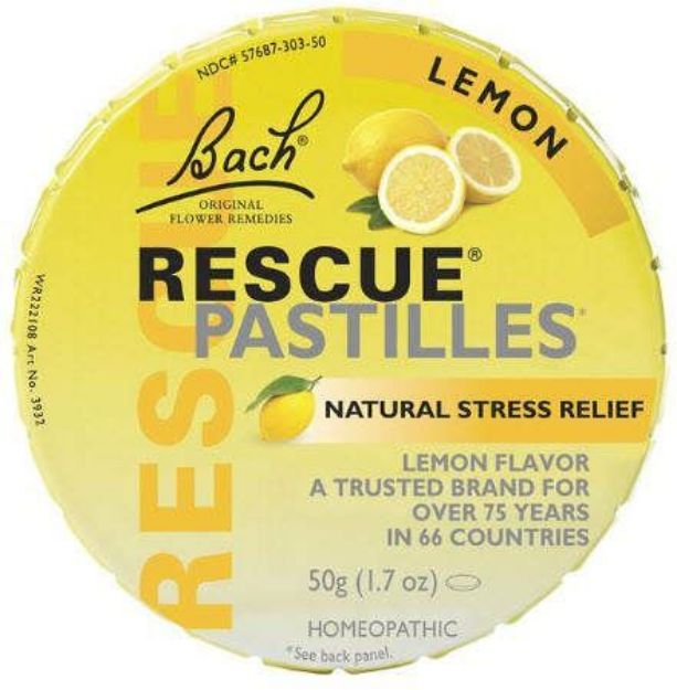Bach Flower Remedies Lemon Rescue Pastilles 50 grams