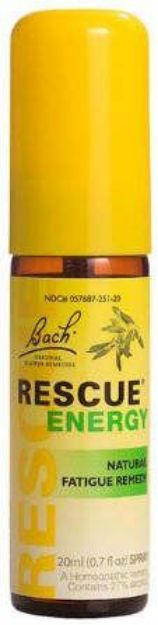 Bach Flower Remedies Rescue Energy Spray 20 ML