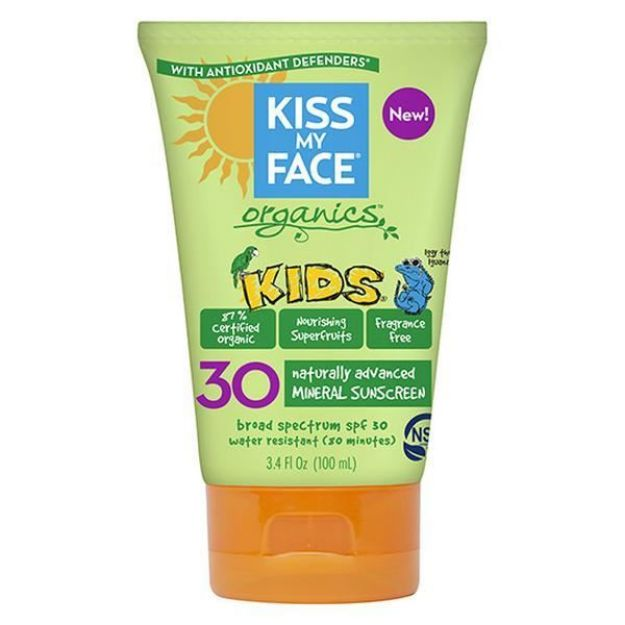 Kids Sunscreen Lotion (SPF 30, Kiss My Face)