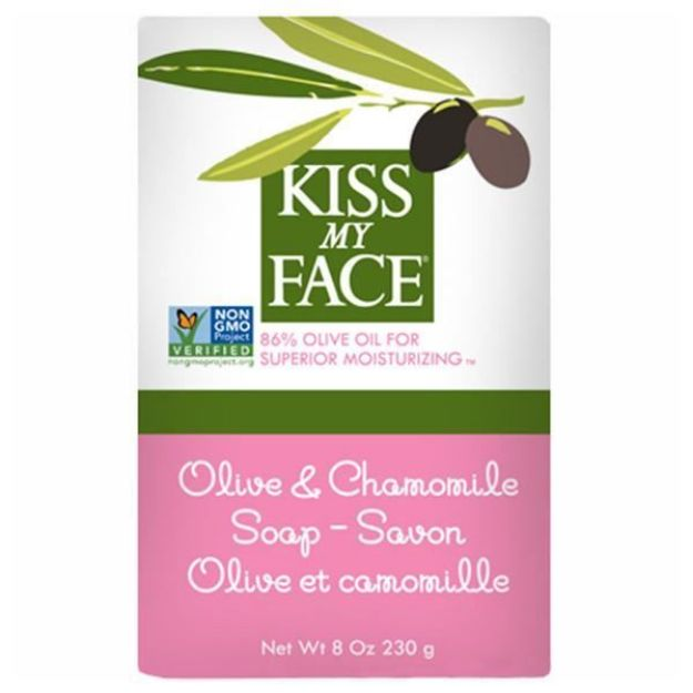 Olive & Chamomile Bar Soap (8 oz., Kiss My Face)