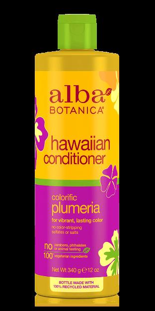 Conditioner - Colorific Plumeria (12 fl. oz., Alba Botanica)