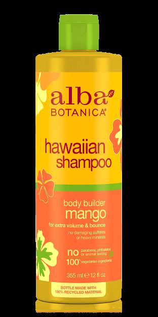Shampoo - Body Builder Mango (12 fl. oz., Alba Botanica)