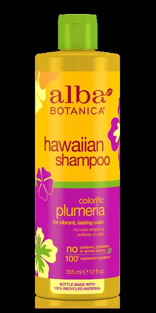 Shampoo - Colorific Plumeria (12 fl. oz., Alba Botanica)