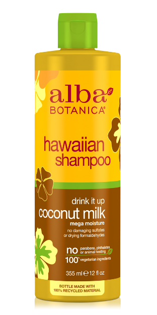 Shampoo - Coconut Milk (12 fl. oz., Alba Botanica)