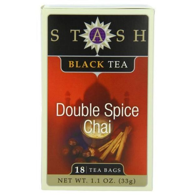 Double Spice Chai (18 tea bags, Stash Tea)
