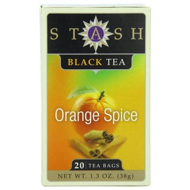 Orange Spice (20 tea bags, Stash Tea)
