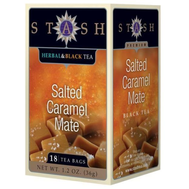 Salted Caramel Mate (18 tea bags, Stash Tea)