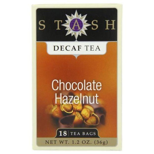 Chocolate Hazelnut Decaf (18 tea bags, Stash Tea)
