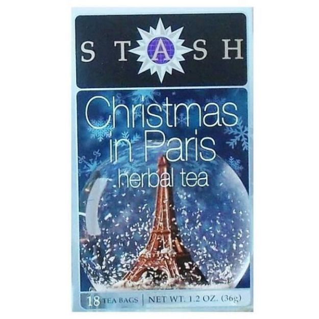 Christmas in Paris (18 tea bags, Stash Tea)