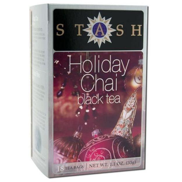 Holiday Chai Black Tea (18 tea bags, Stash Tea)