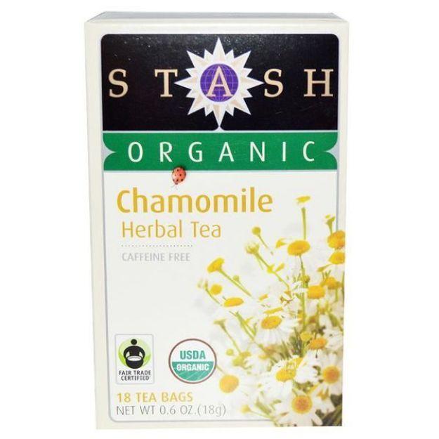 Organic Chamomile Tea (18 tea bags, Stash Tea)