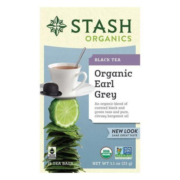 Organic Earl Grey (18 tea bags, Stash Tea)