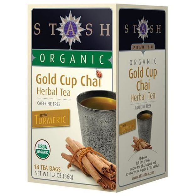 Gold Cup Chai (18 tea bags, Stash Tea)