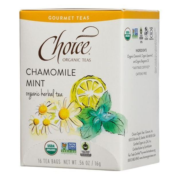 Chamomile Mint Gourmet Tea (16 tea bags - Choice Teas)