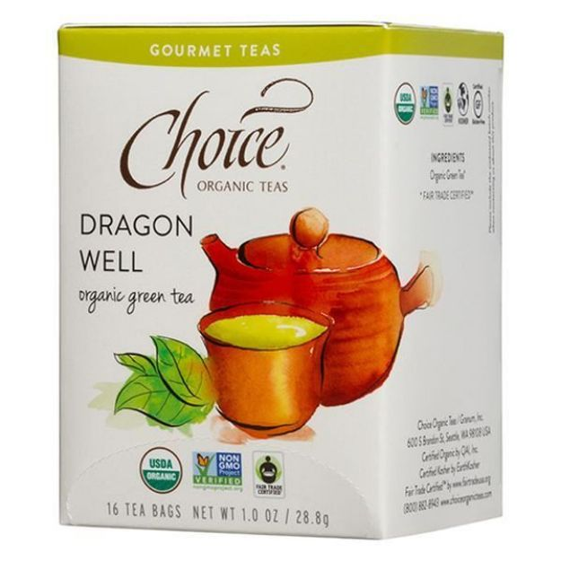 Dragon Well Gourmet Tea (16 tea bags - Choice Teas)